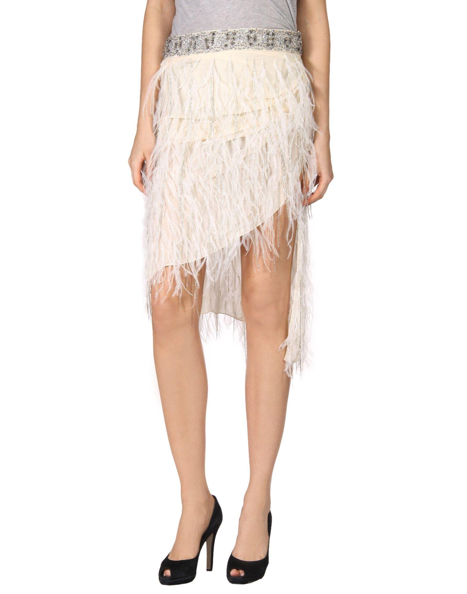 HAUTE HIPPIE Юбка длиной 3/4 haute hippie платье длиной 3 4