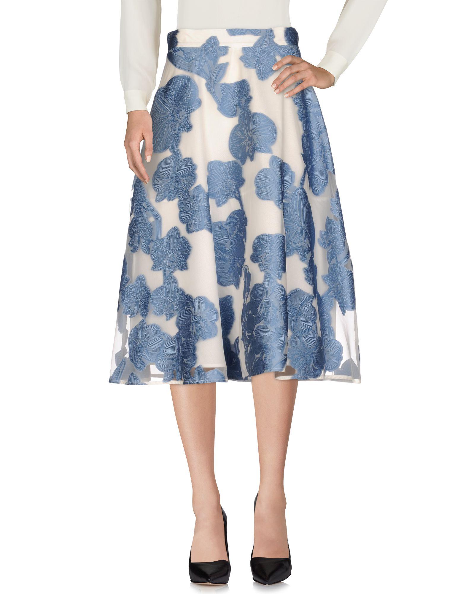 P.A.R.O.S.H. Юбка длиной 3/4 moschino couture юбка длиной 3 4