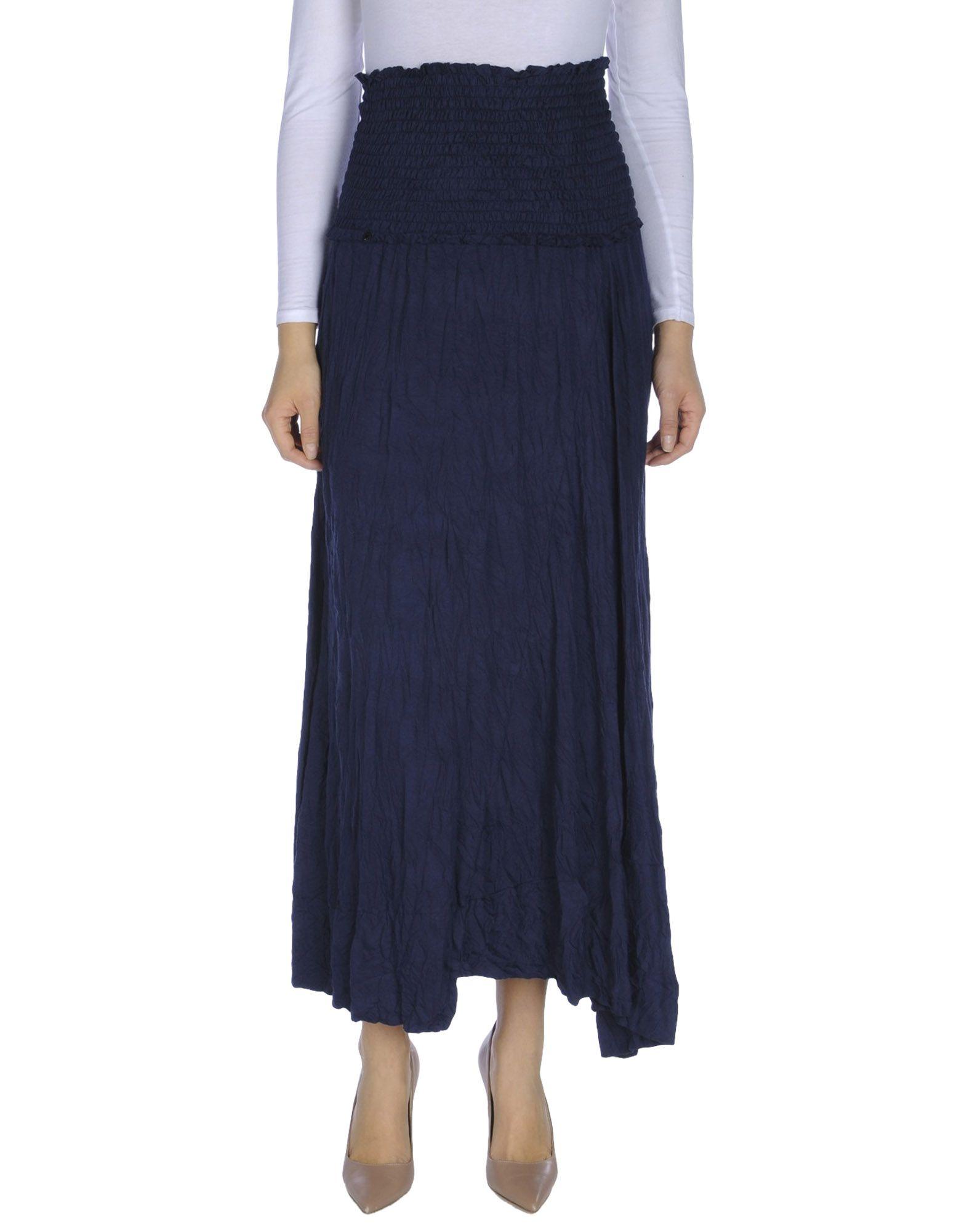 OBLIQUE CREATIONS Длинная юбка юбка arma arma ar020ewqof41