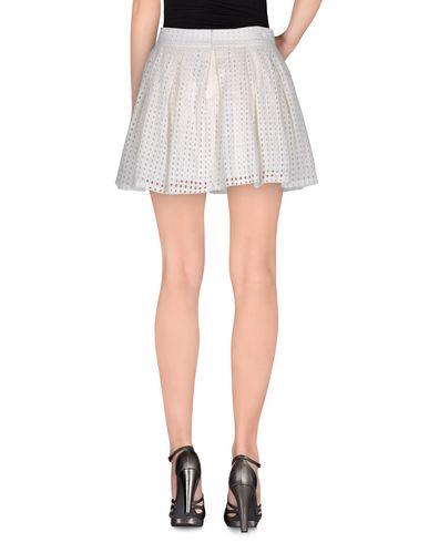 CHOKLATE Damen Minirock Elfenbein Größe L 100% Baumwolle