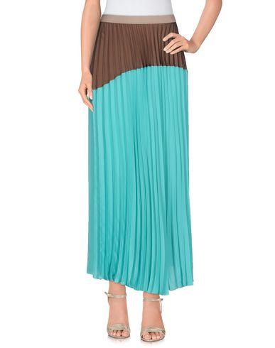 Купить Длинная юбка от MALÌPARMI бирюзового цвета