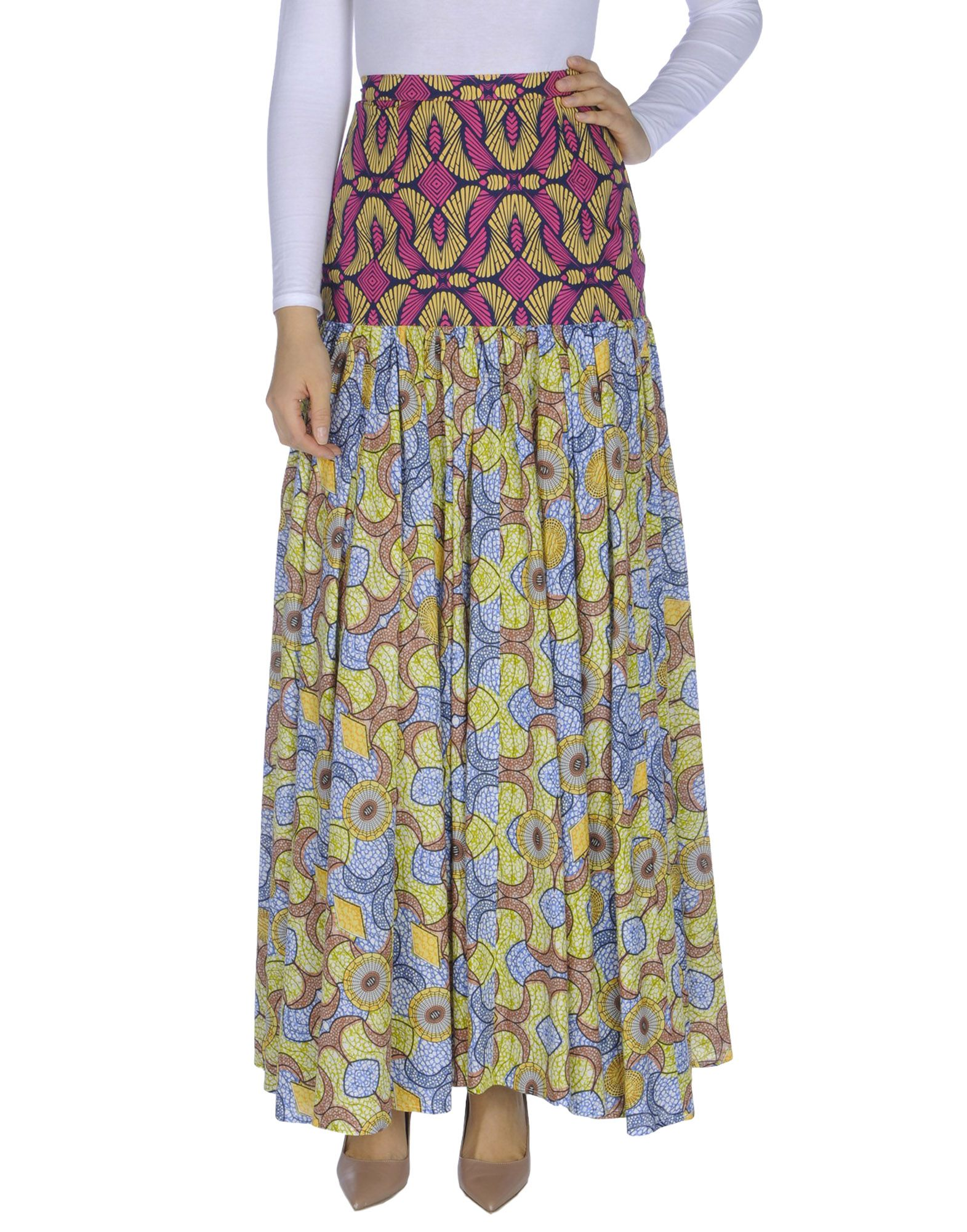 PINKO Длинная юбка rubies длинная гавайская юбка