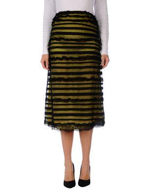 Schmogrow-Fehrow Angebote MARIA GRAZIA SEVERI Damen Midirock Farbe Gelb Größe 6