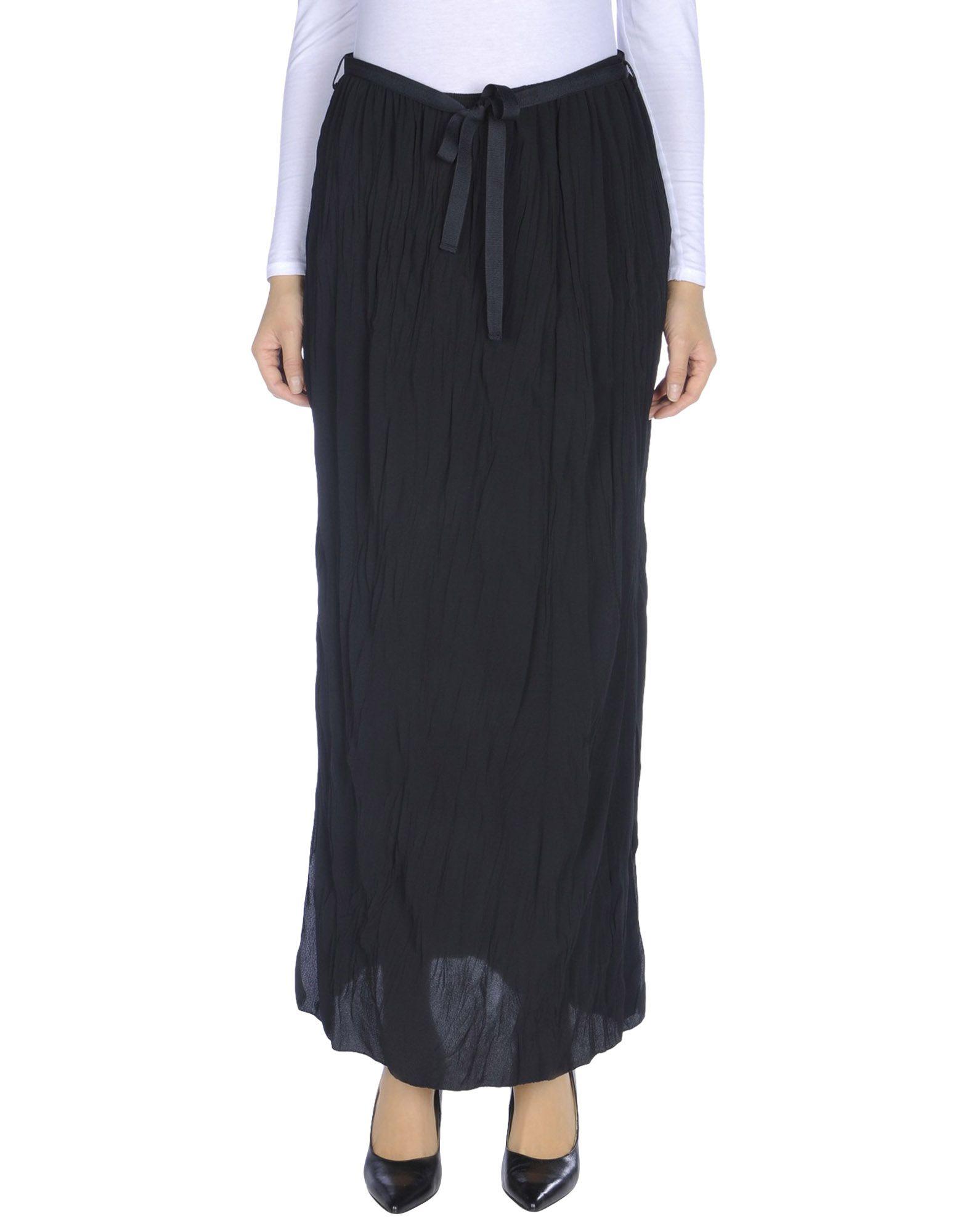 ANDREA MORANDO Длинная юбка цена 2017