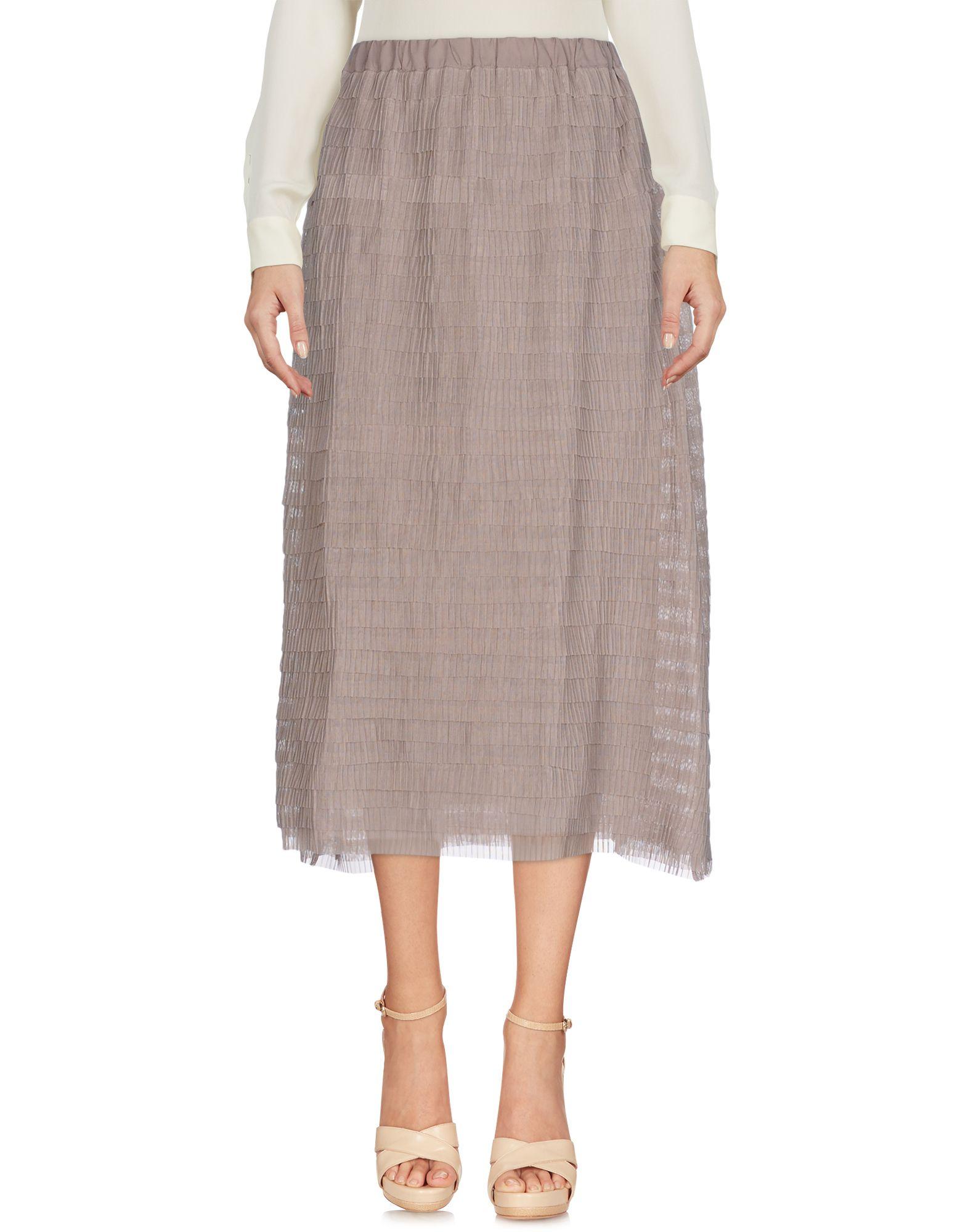 LA KICCA Юбка длиной 3/4 la fabrique юбка длиной 3 4