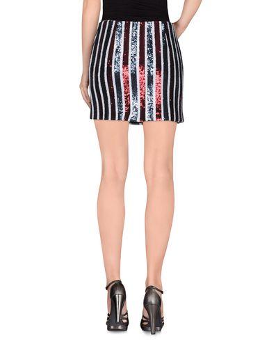 Фото 2 - Мини-юбка кирпично-красного цвета