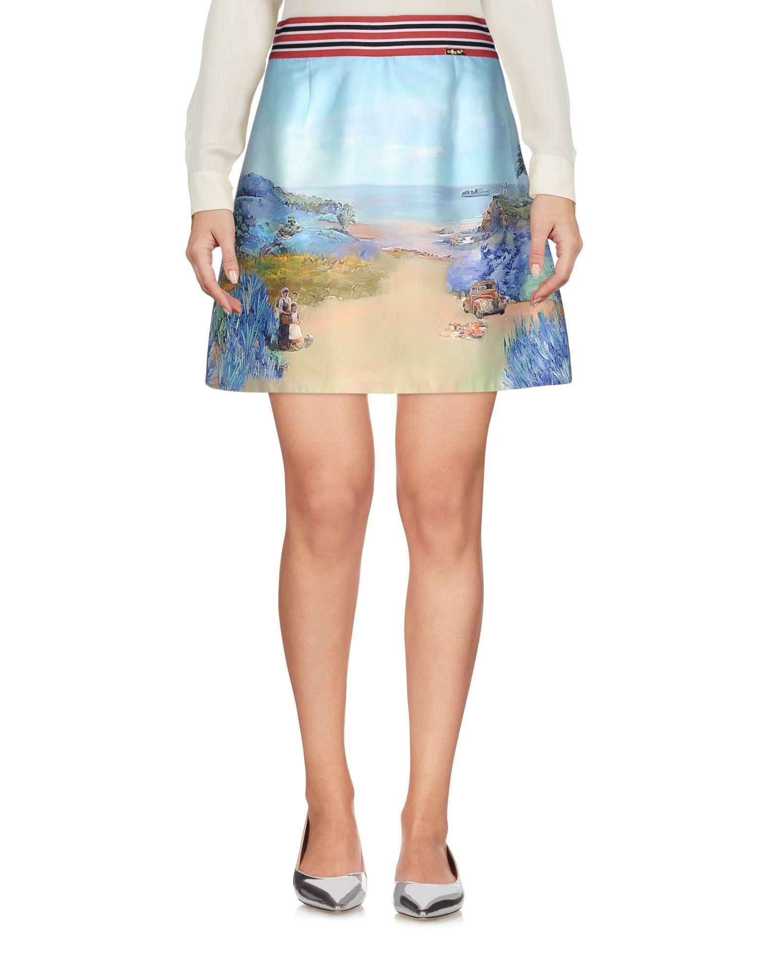 цена  LAFTY LIE Мини-юбка  онлайн в 2017 году