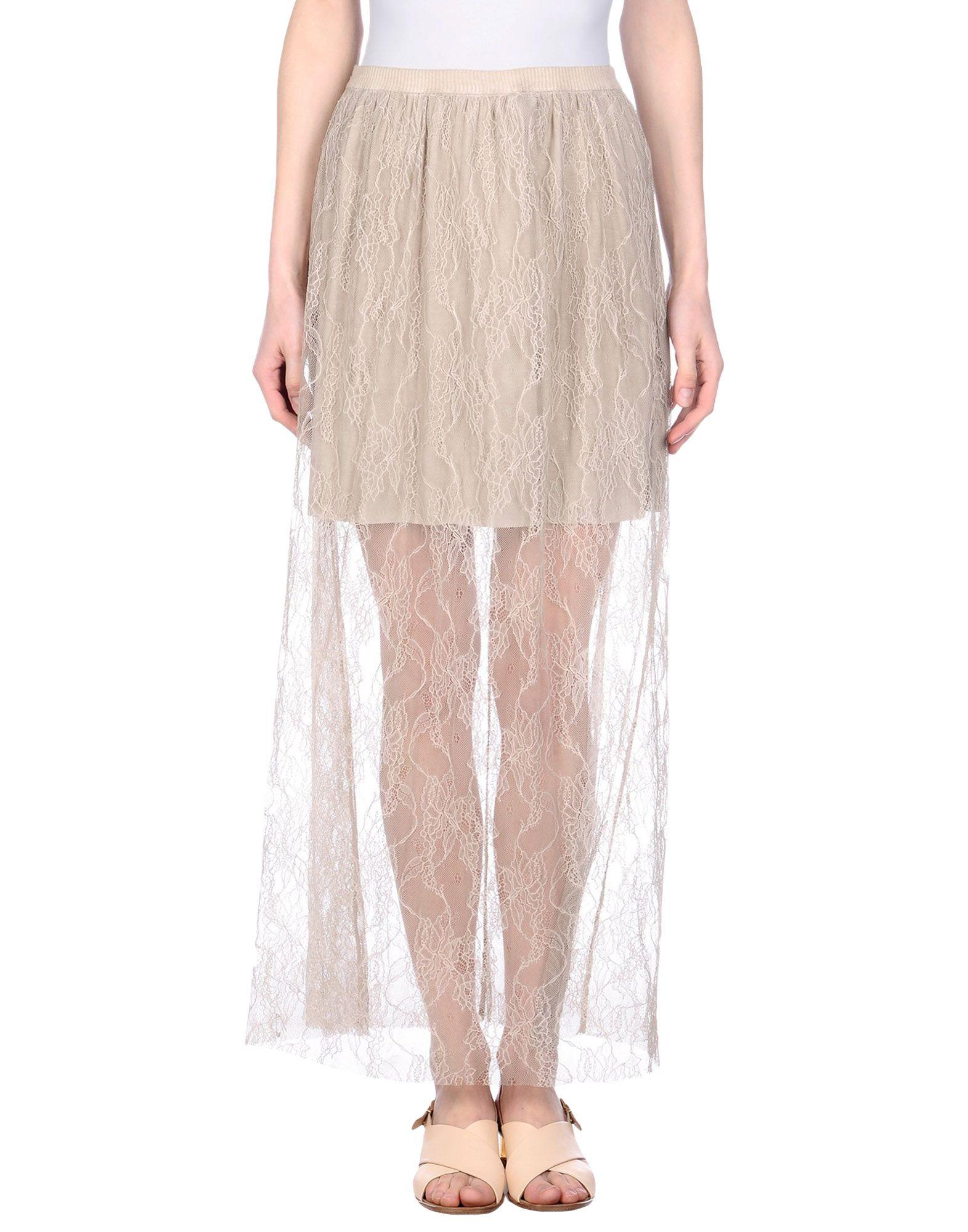 все цены на TWENTY EASY by KAOS Длинная юбка онлайн