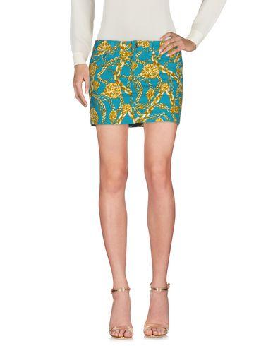 Фото - Мини-юбка бирюзового цвета
