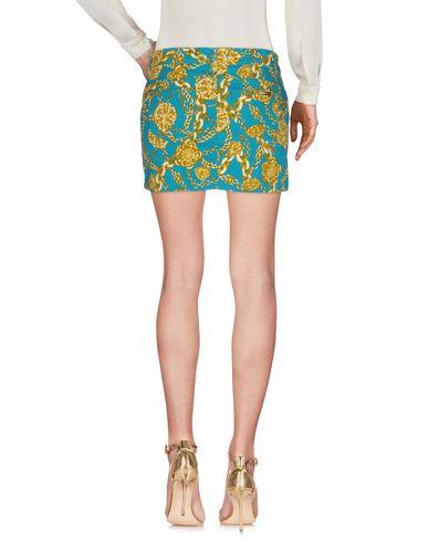 Фото 2 - Мини-юбка бирюзового цвета
