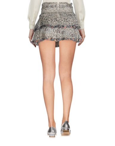 Фото 2 - Мини-юбка светло-серого цвета