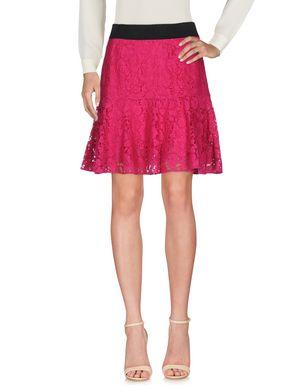DOLCE & GABBANA Damen Knielanger Rock Farbe Purpur Größe 3 Sale Angebote