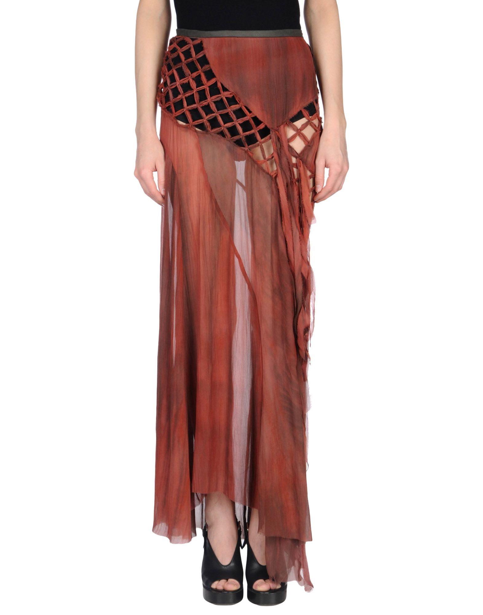ALESSANDRA MARCHI Длинная юбка alessandra marchi короткое платье