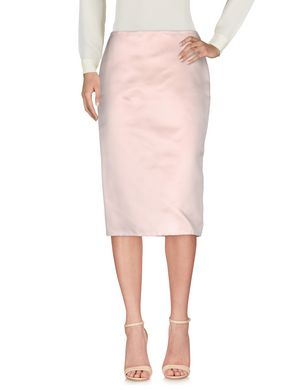 PRADA Damen Midirock Farbe Hellrosa Größe 4 Sale Angebote Bagenz