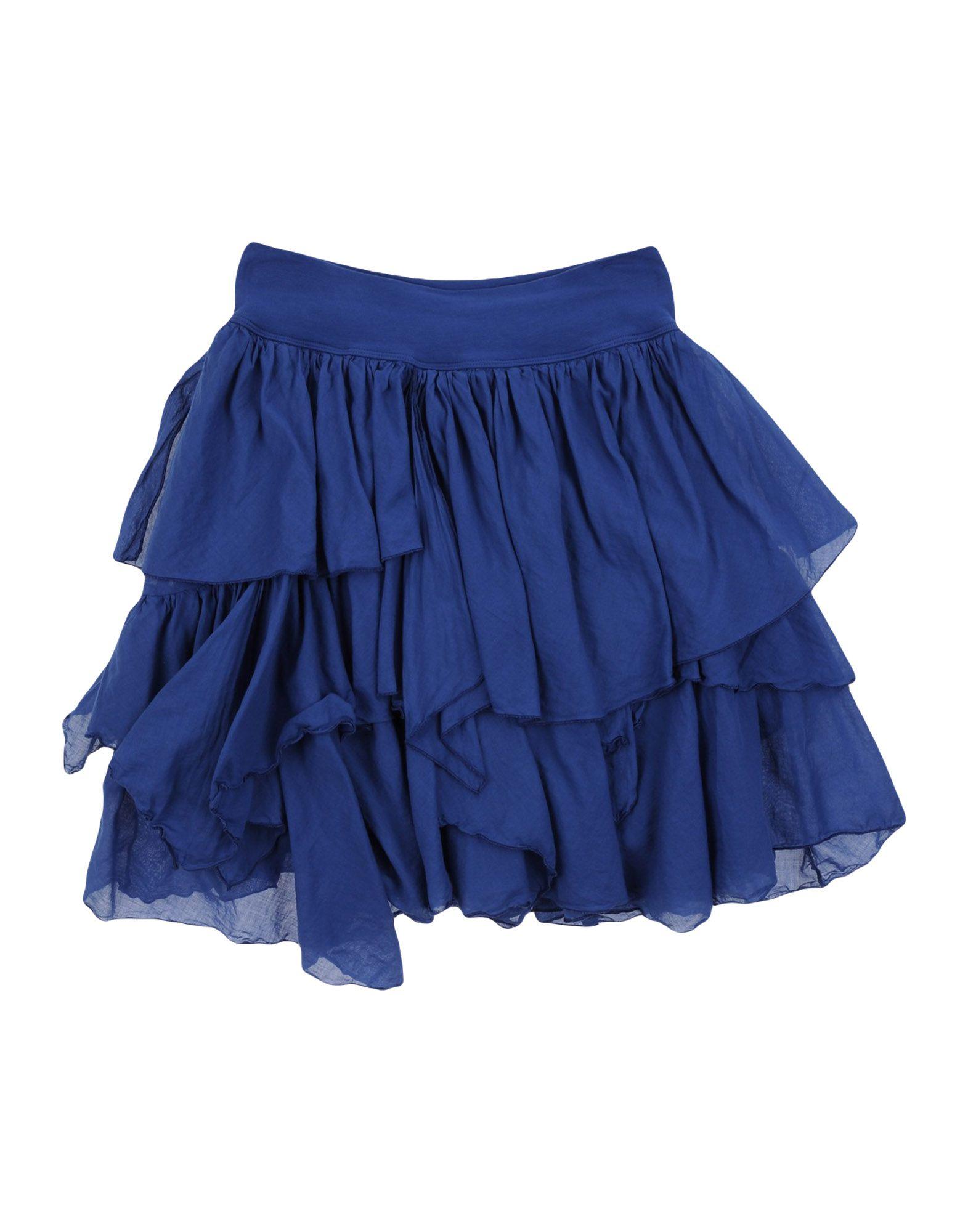 EUROPEAN CULTURE Mädchen 9-16 jahre Rock Farbe Blau Größe 6