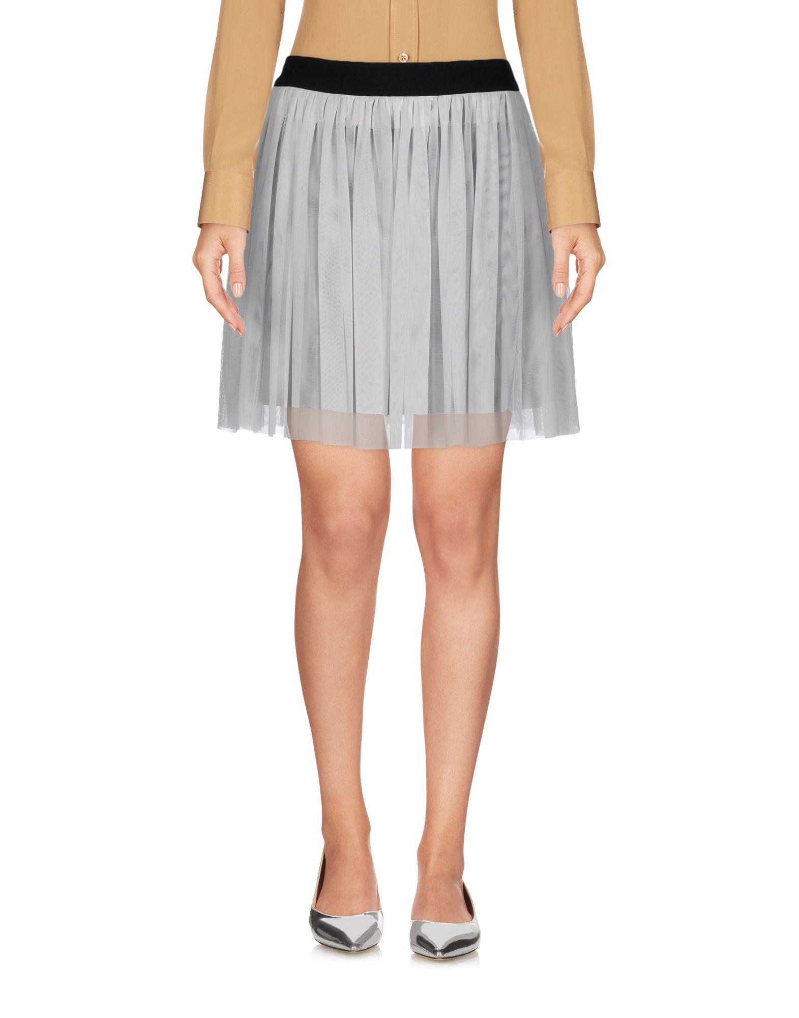 ANIYE BY Damen Minirock Farbe Weiß Größe 4