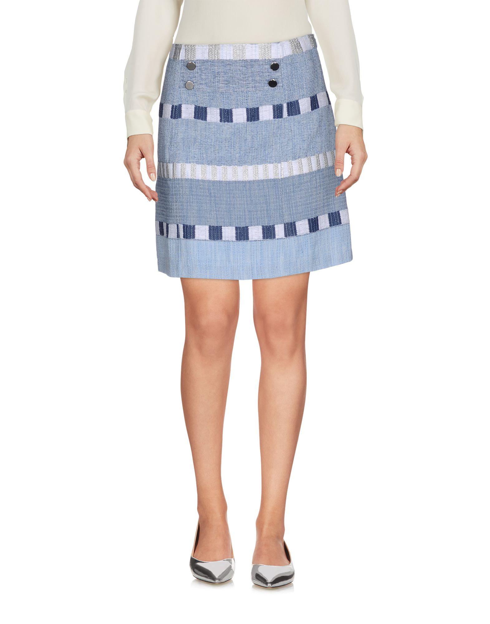 INTROPIA Мини-юбка intropia длинная юбка