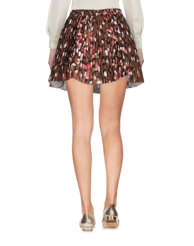 REDValentino Damen Minirock Khaki Größe 34 100% Polyester