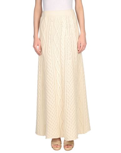 Фото - Длинная юбка цвет слоновая кость