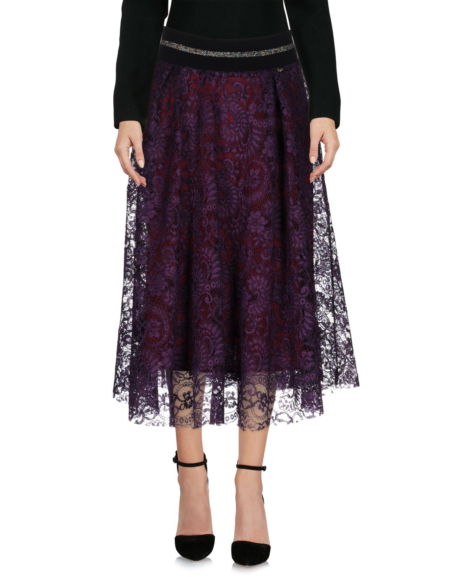 SOUVENIR Юбка длиной 3/4 souvenir платье длиной 3 4