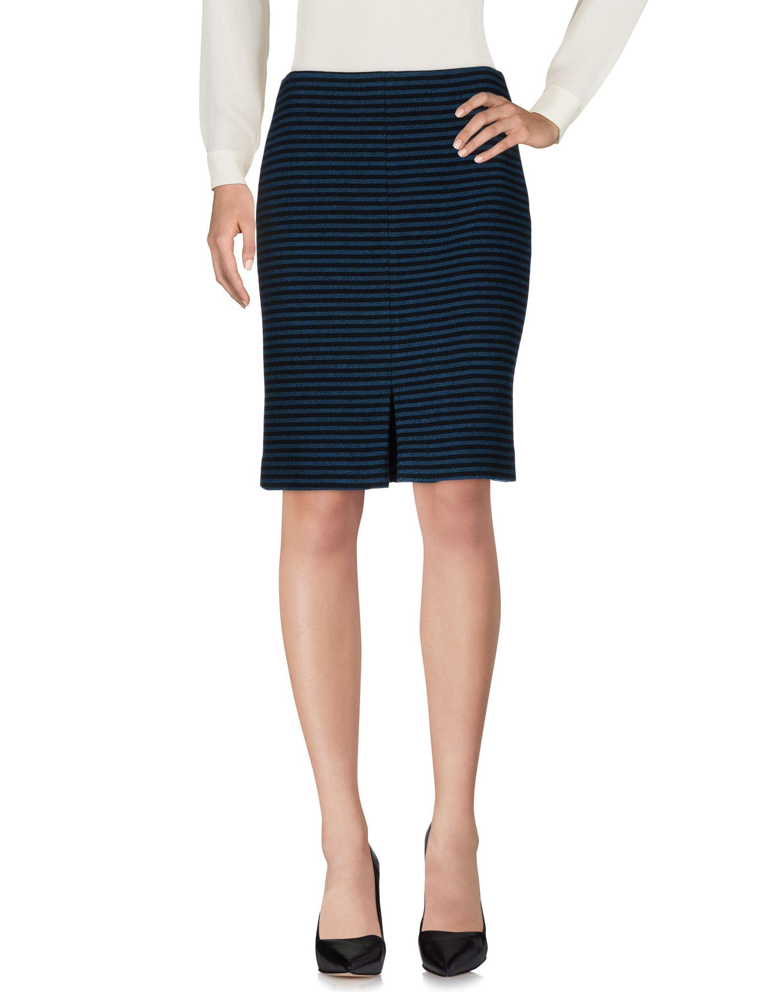 Shoppable Search Camila Stripes Skirt Leux Studio Navy L 35323135us 14 F