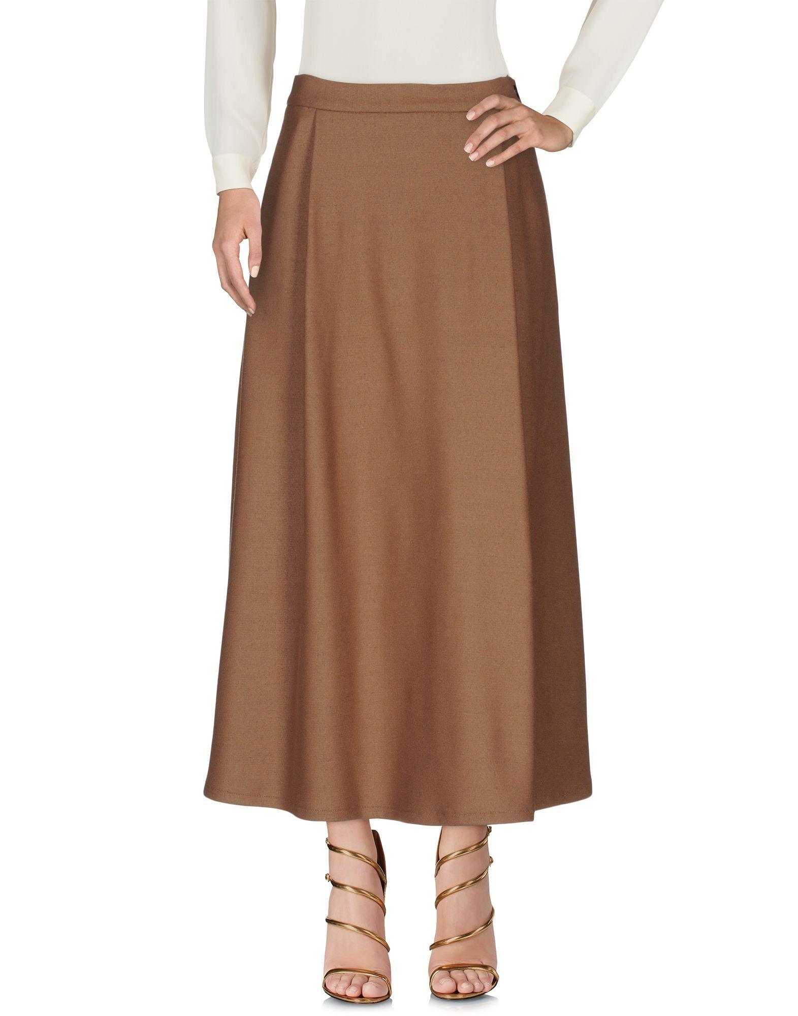 BARENA Длинная юбка barena юбка до колена