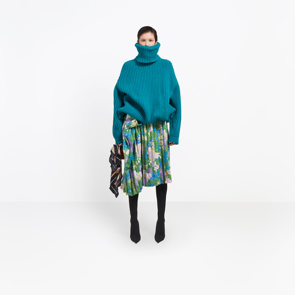 BALENCIAGA Skirt Woman Tubular Pleated Skirt g