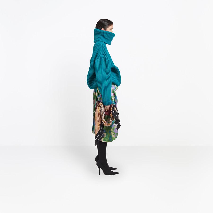 BALENCIAGA Tubular Pleated Skirt Skirt Woman i