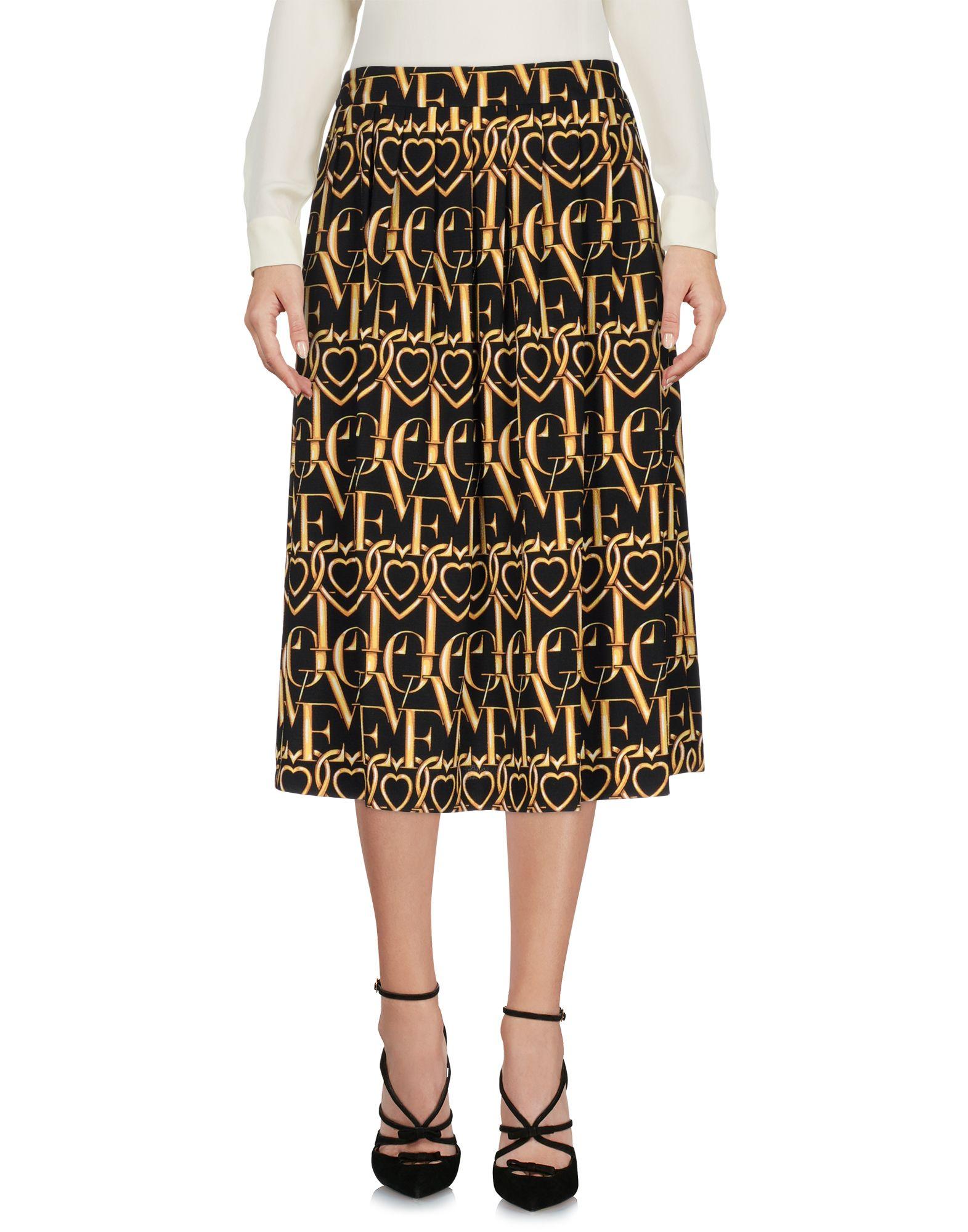 LOVE MOSCHINO Юбка длиной 3/4 moschino couture юбка длиной 3 4