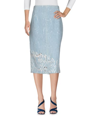 цена  ERMANNO SCERVINO Джинсовая юбка  онлайн в 2017 году