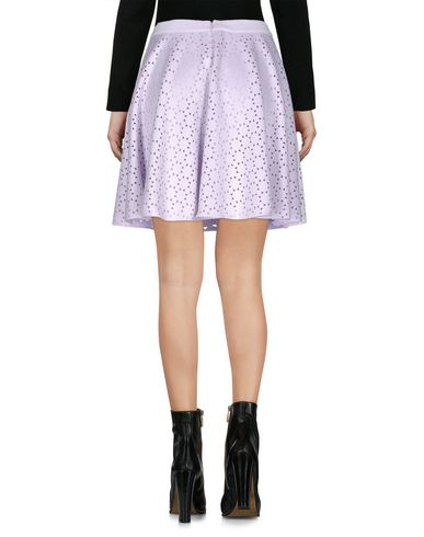 Фото 2 - Мини-юбка от TWIN-SET JEANS сиреневого цвета