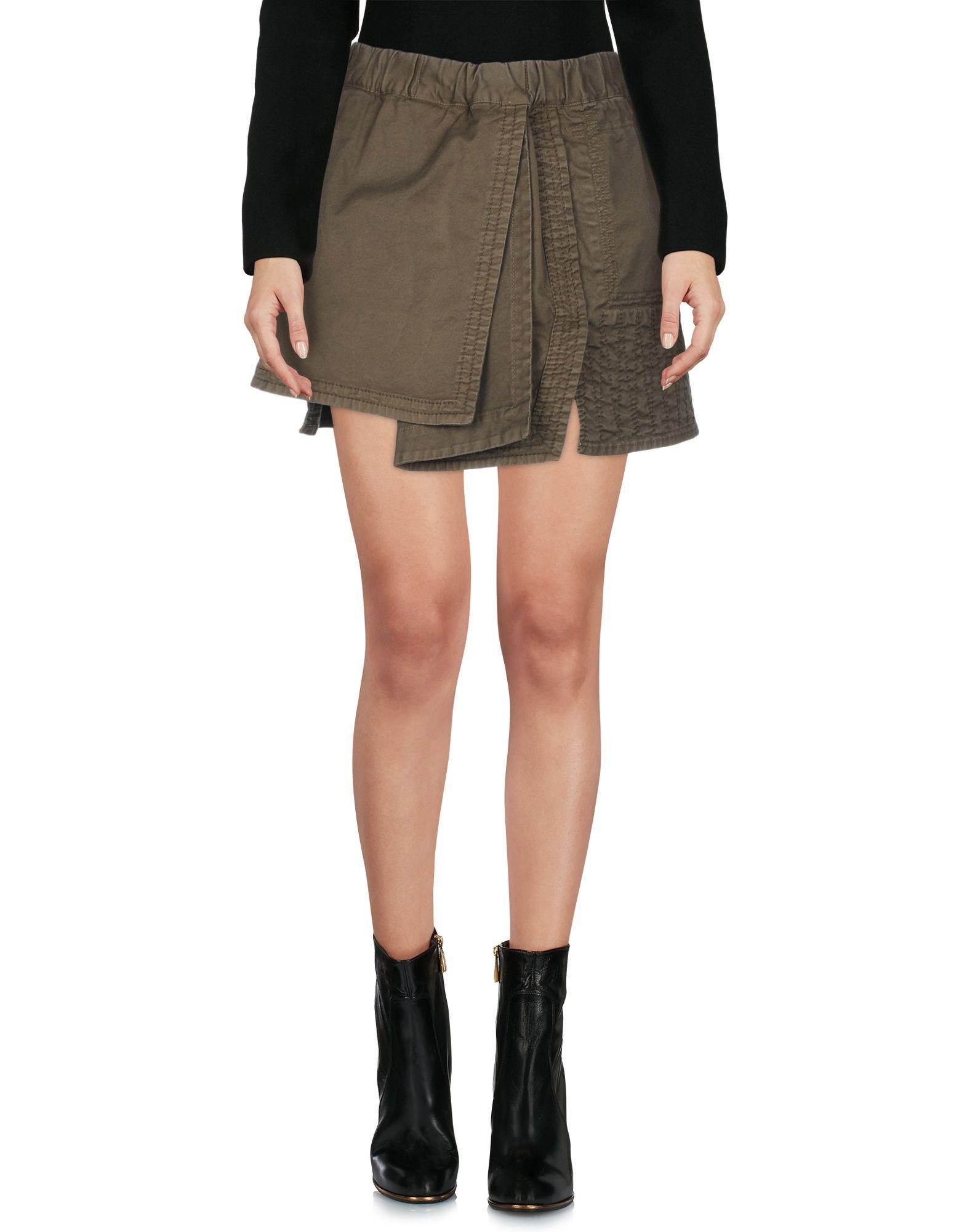 N°21 Мини-юбка юбка n°21 юбки прямые