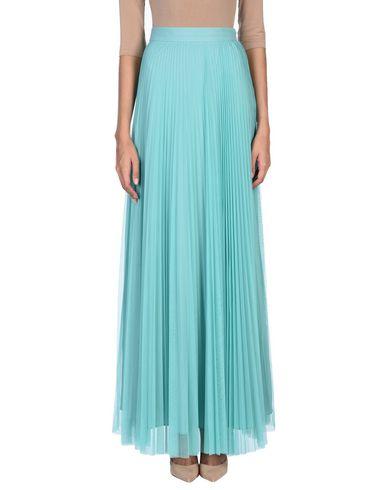 Фото - Длинная юбка светло-зеленого цвета