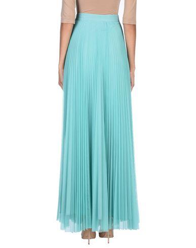 Фото 2 - Длинная юбка светло-зеленого цвета
