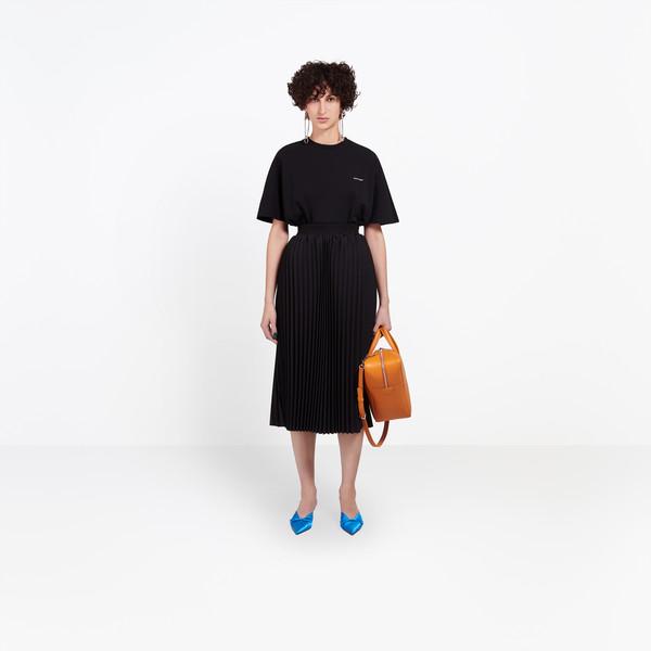 BALENCIAGA Skirt D Hourglass Pleated Skirt g