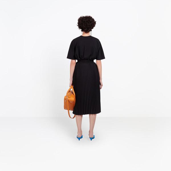 BALENCIAGA Skirt Woman Hourglass Pleated Skirt h