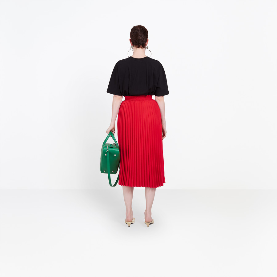 BALENCIAGA Hourglass Pleated Skirt Skirt D d