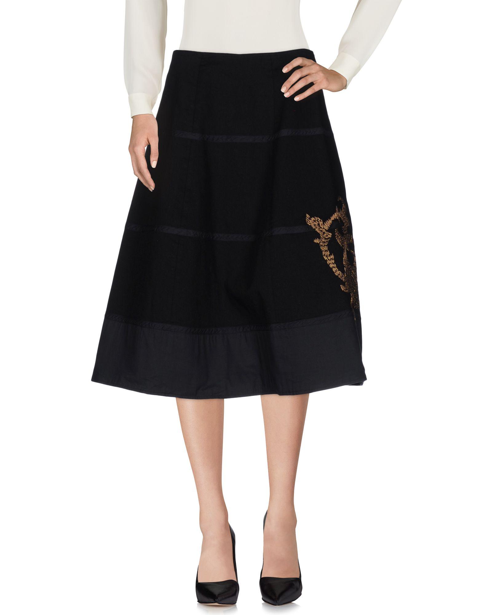 BARENA Юбка длиной 3/4 barena длинная юбка