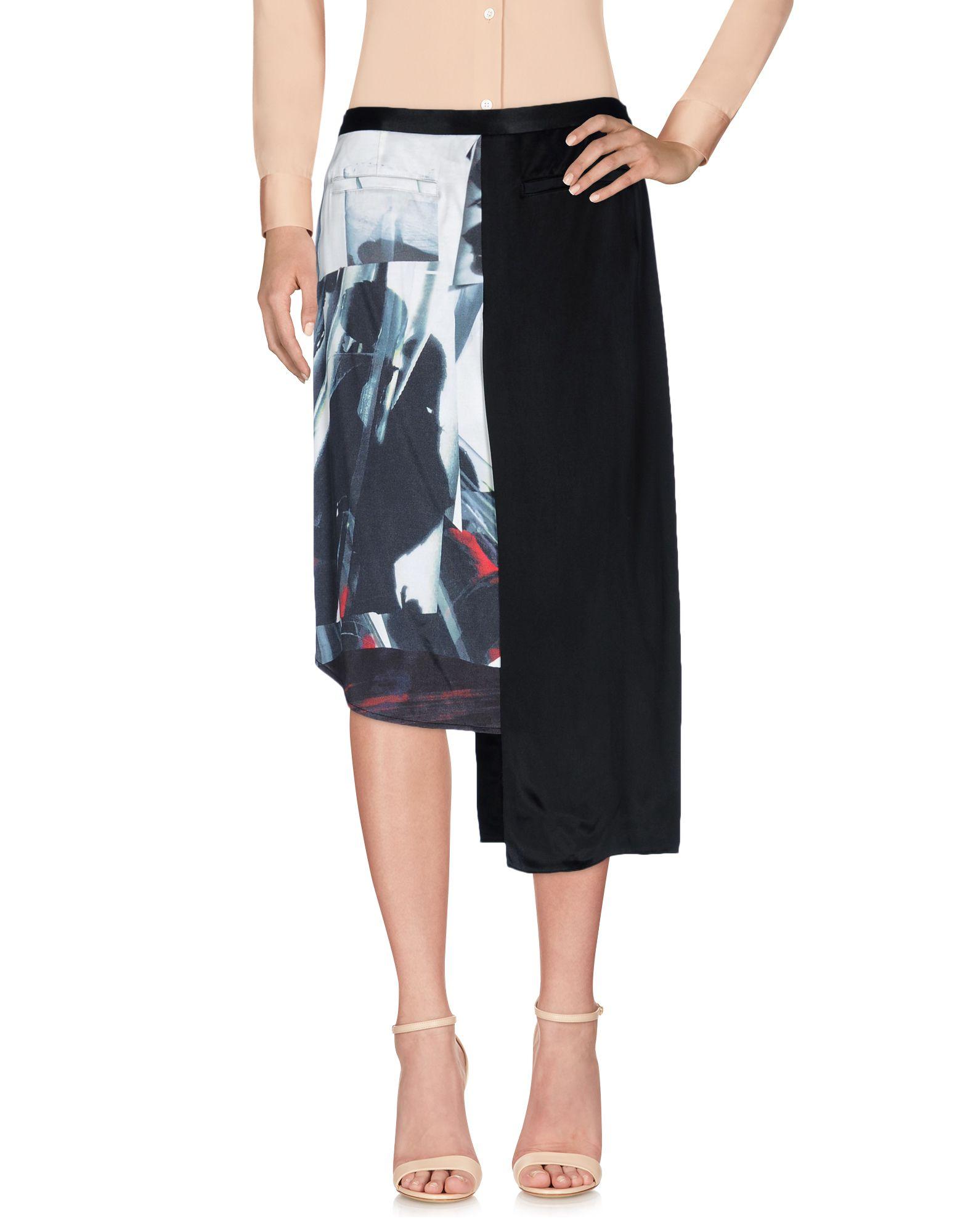 Фото - DKNY Юбка до колена обувь на высокой платформе dkny