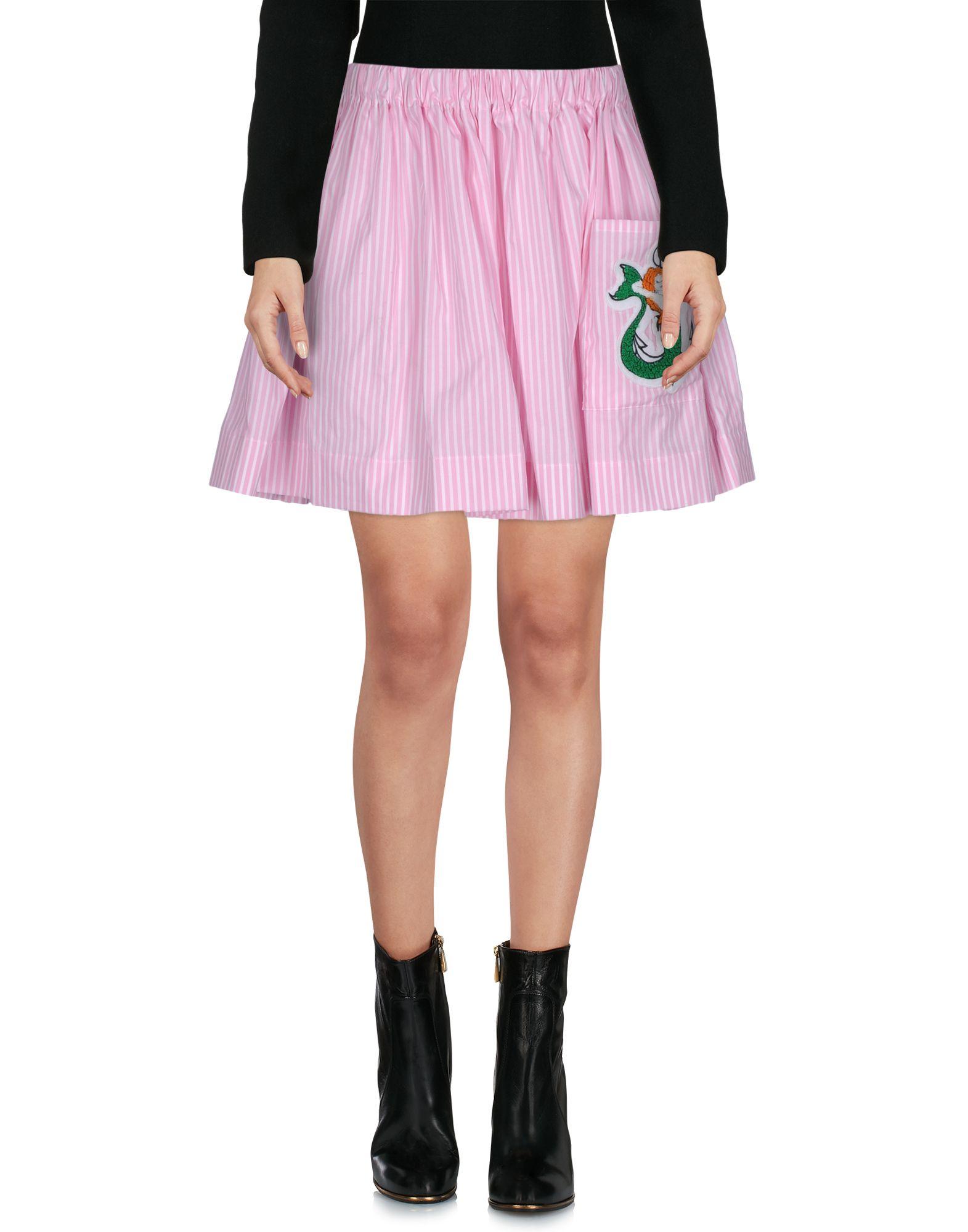 ALCOOLIQUE Мини-юбка alcoolique рубашка в клетку с рюшами