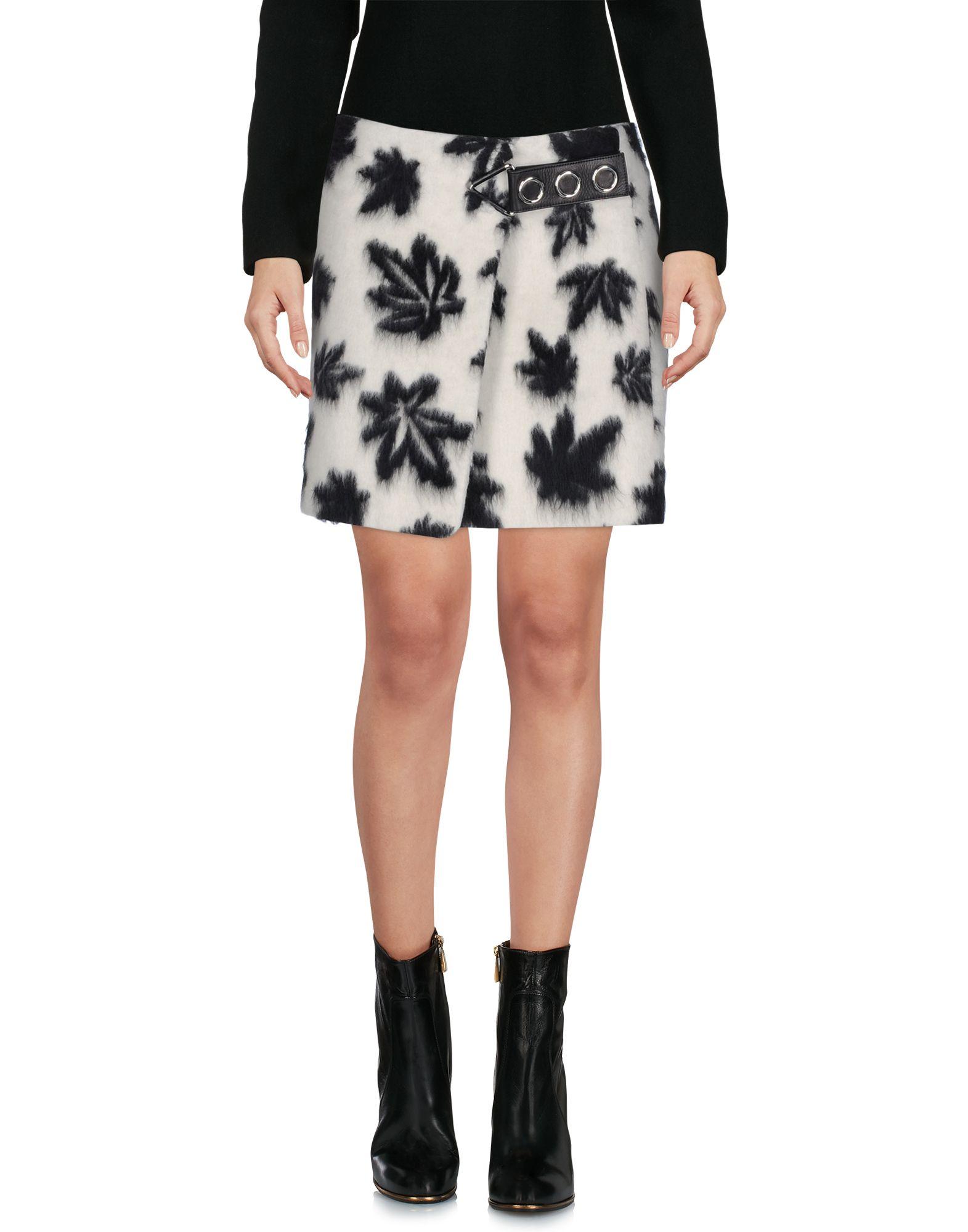 ALEXANDER WANG Damen Minirock Farbe Elfenbein Größe 3