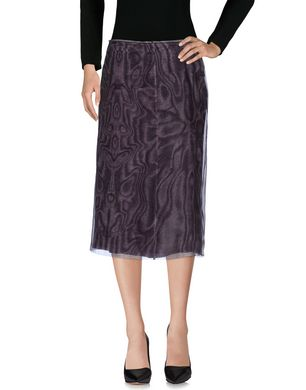 PRADA Damen Midirock Farbe Violett Größe 5 Sale Angebote Senftenberg
