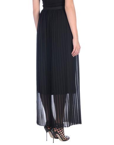 ERIKA CAVALLINI Damen Midirock Schwarz Größe 36 100% Polyester