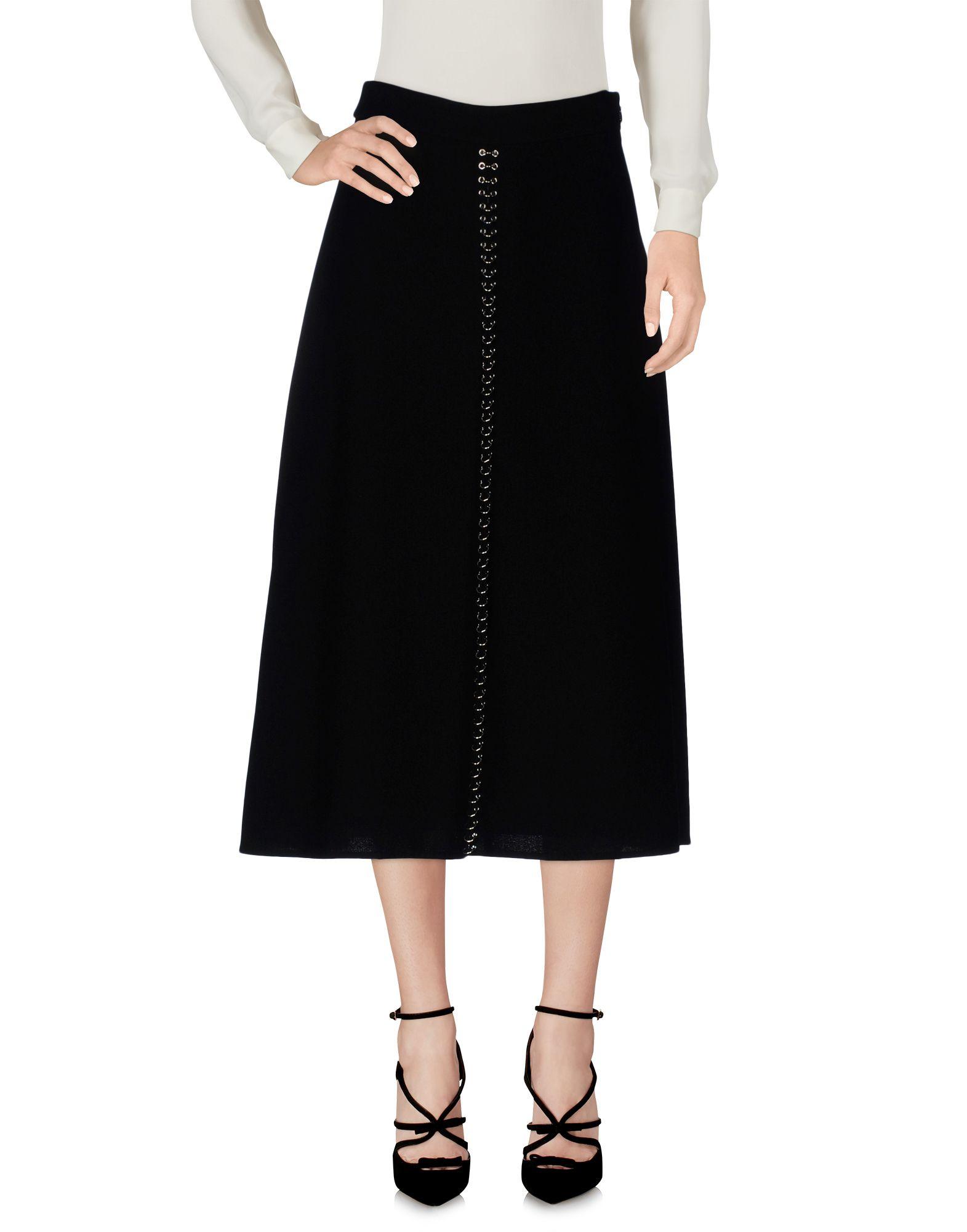 ALEXANDER WANG Юбка длиной 3/4 alexander wang черная хлопковая юбка
