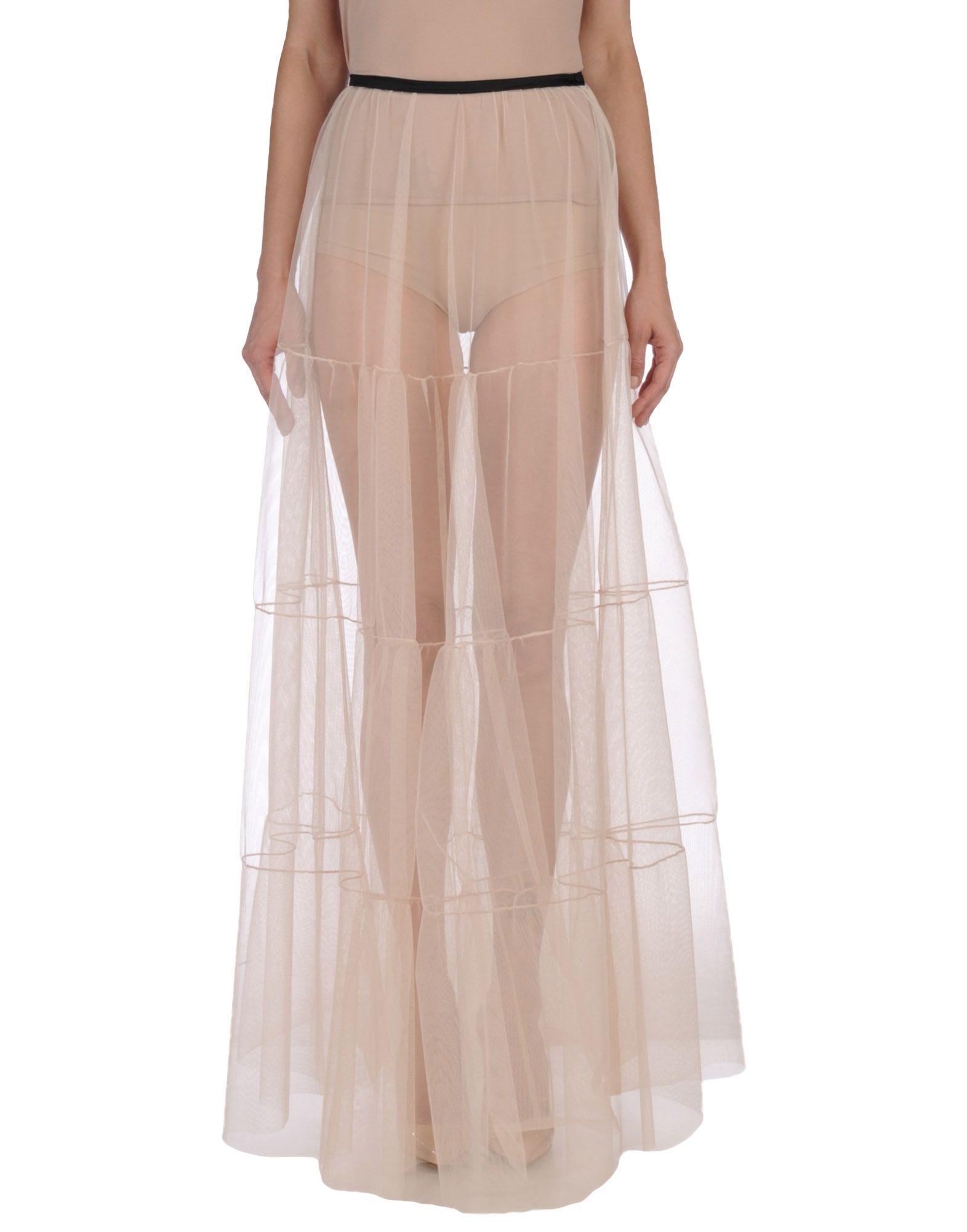 MSGM Длинная юбка msgm одежда