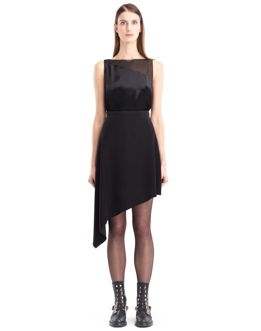 lanvin cady skirt women