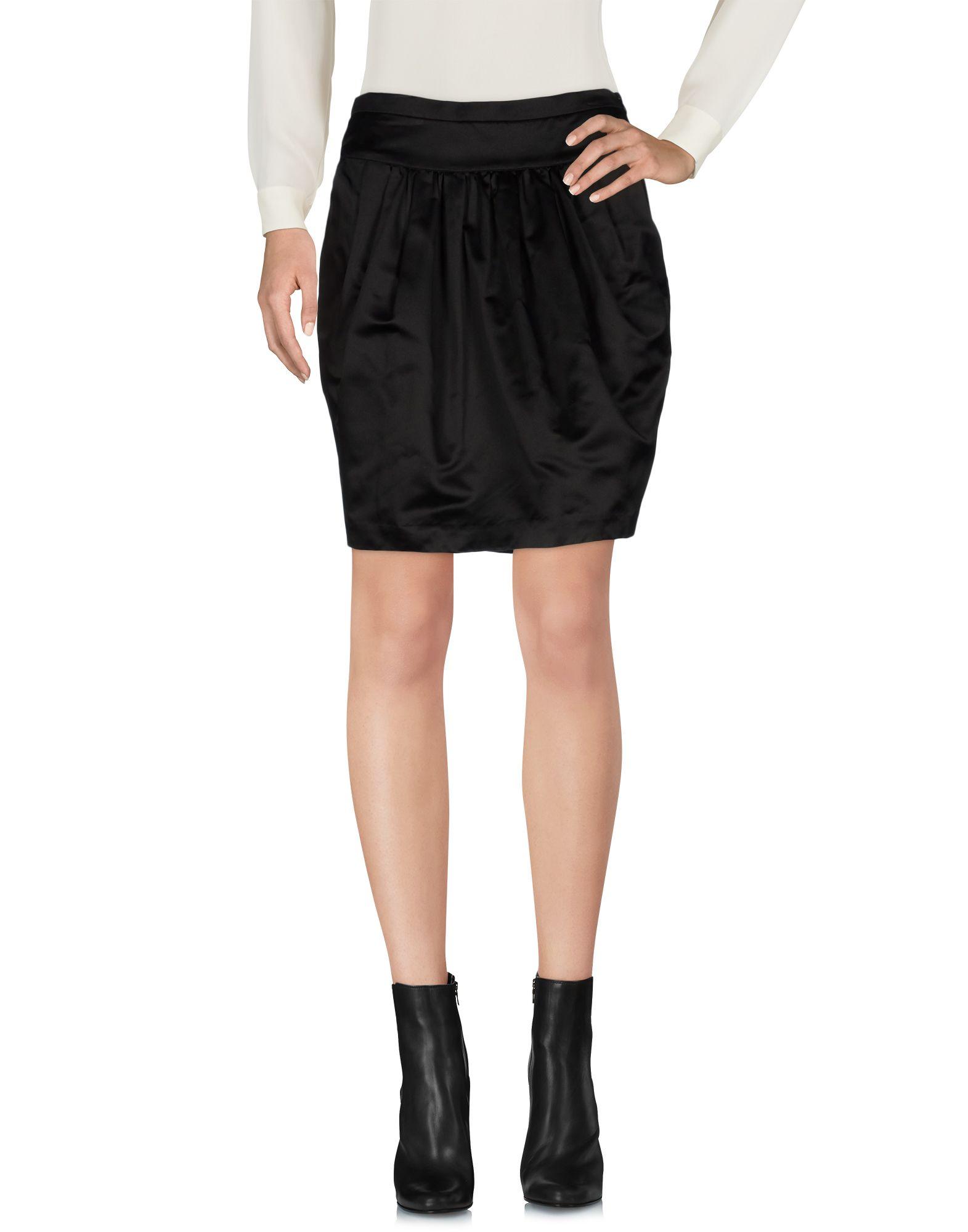 ASPESI Damen Minirock Farbe Schwarz Größe 4