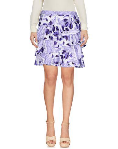 Купить Юбку до колена фиолетового цвета