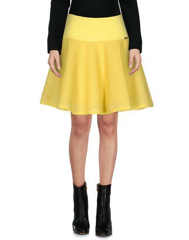 Купить Мини-юбка от CRISTINAEFFE желтого цвета