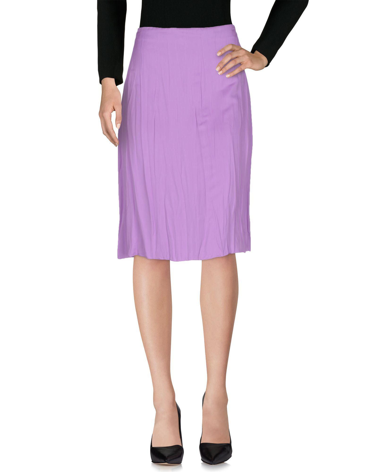 NINA RICCI Юбка длиной 3/4 nina ricci полосатая юбка